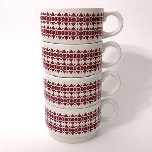 Vintage Arklow Coffee Mugs, made of Ireland